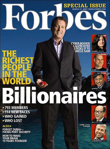 Forbes Magazine's Rum List