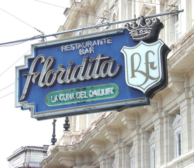 """My Daiquiri In El Floridita."" EH"