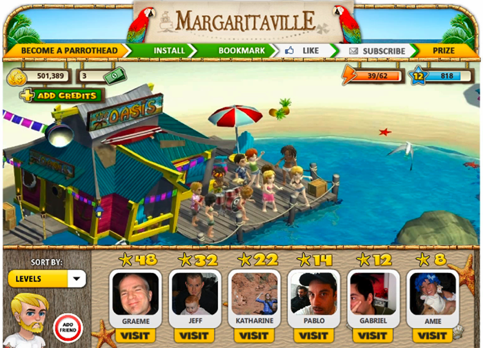 Margaritaville-The Game - Rum Connection